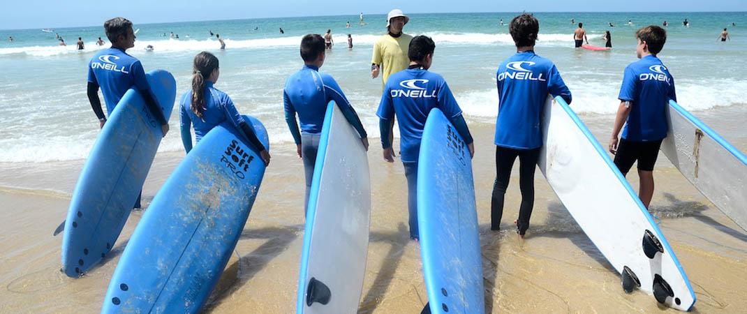 escuela de surf loto conil 2