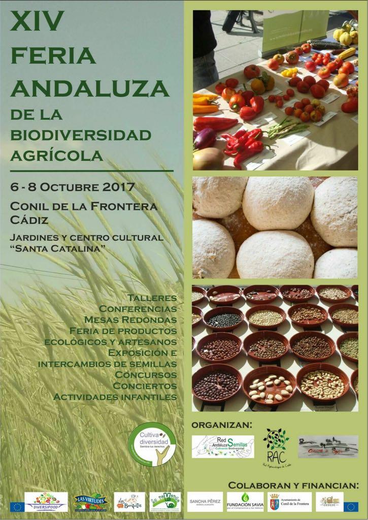 xiv feria andaluza de la biodiversidad agricola conil