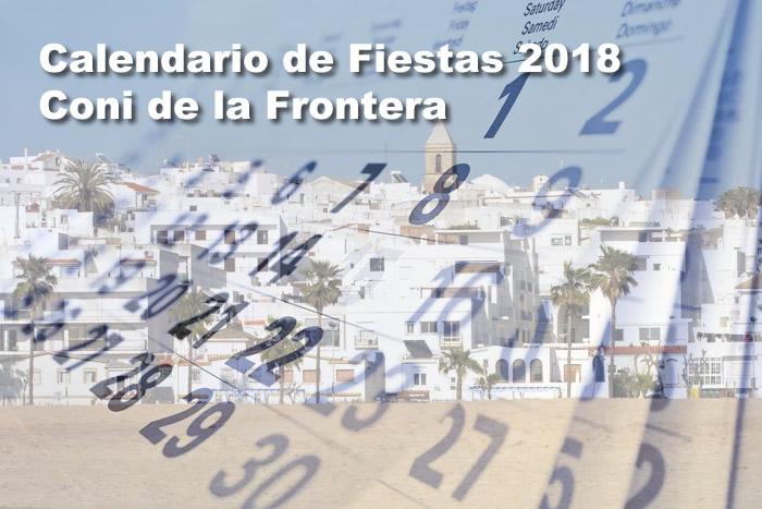 Calendario Fiestas Populares 2018 Conil de la Frontera
