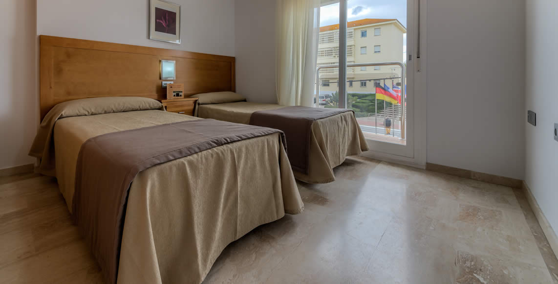 Apartamentos de dos Dormitorios en Conil